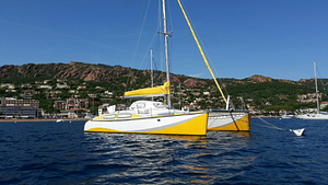 Outremer 40. Vente/achat de multicoques avec Multicats International. Multihulls sale and purchase with Multicats International