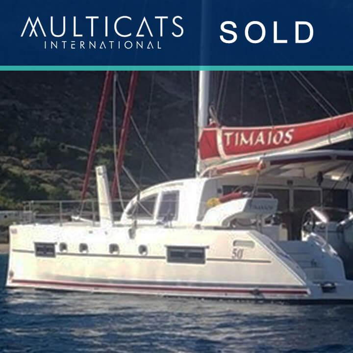 Catana 50 Catamaran vendu par Multicats International